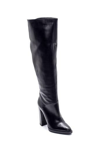 Derimod Kadın Çizme (19619) Casual Siyah